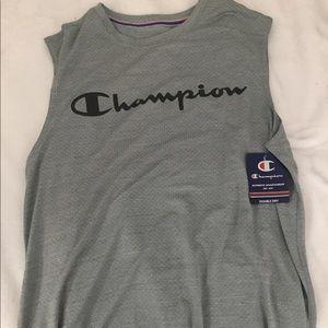 Medium Grey Champion Sleeveless Shirt